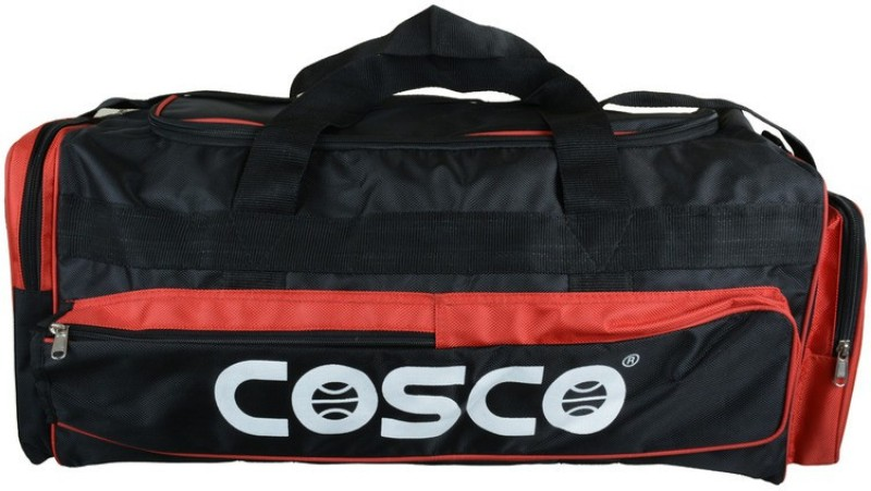 Cosco Club Kit Bag(Red, Black, Kit Bag)