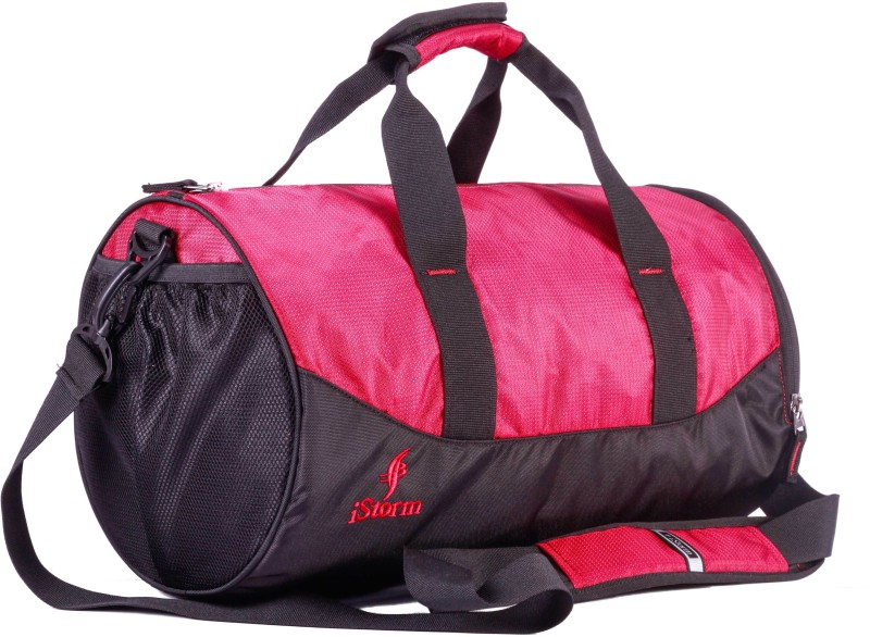 Istorm Flex Gym Bag(Red, Black, Kit Bag)