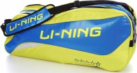 Li-Ning ABDJ182-4 RacquetBag(Green, Kit Bag)
