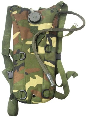 BikeStuff Hydration Sipper Bag - Military Style Backpack