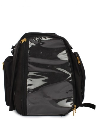 Saumya Customs Black Tank Bag