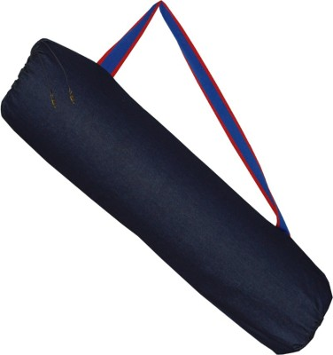 YOGE Dark Denim Bag (With Pocket) (for Yoga Mats of upto 6mm thickness)