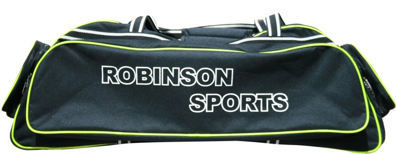 RS Robinson Prestige Duffle Bag(Black, Kit Bag)