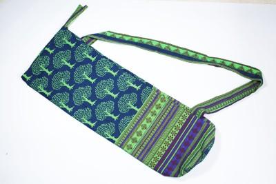 Aksobha Go Green Yoga Mat Sling Bag(Green, Sling Bag)