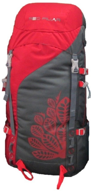 Red Pillar Alang 45 Adventure(Red, Black, Rucksack)
