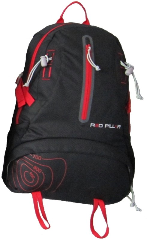 Red Pillar Tista 23 Adventure(Black, Red, Rucksack)