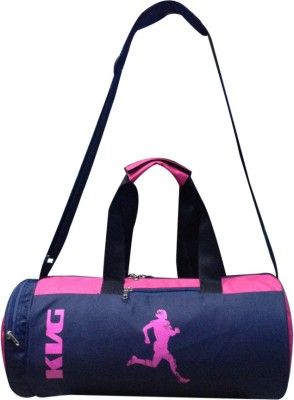 KVG JIO Gym Bag(Pink, Blue, Frame Bag)