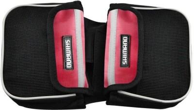 BikeStuff B-BCB4.. Bicycle Saddle Bag(Black, Red, Saddle Bag)