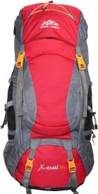 Mount Track X-Trail Hiking Rucksack - 90 L(Red)