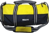 Nicelook Travel Gym Bag (Yellow, Sling B...
