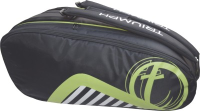 Triumph Pro-404-Black Green Badminton Bag