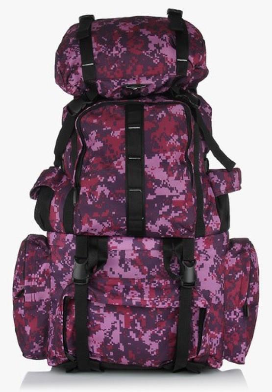 President Hulk-Camo-Wine Backpack(Multicolor, Rucksack)