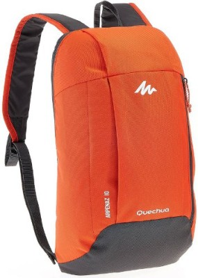 Quechua Arpenaz 10 Backpack(Orange, Grey, Backpack)