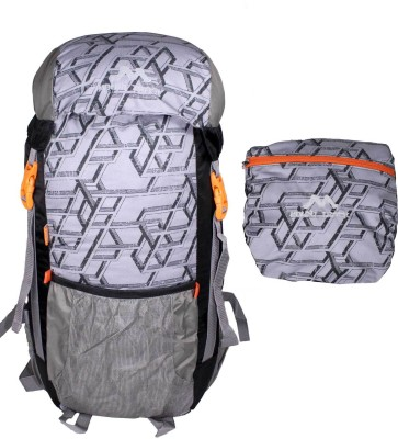 Mount Track Foldable Outdoor Backpack(Multicolor, Rucksack)