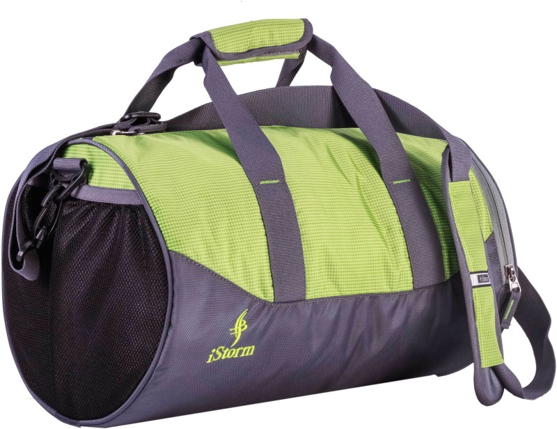 Istorm Flex Gym Bag(Green, Grey, Kit Bag)