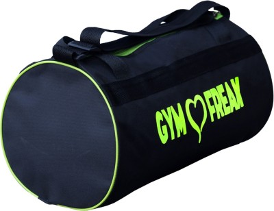 Dee Mannequin Fitness Freak Neon Duffle Bag(Neon, Black, Drawstring Bag)