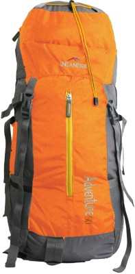 Inlander Decamp 1005 Rucksack  - 50 L(Orange, Grey)