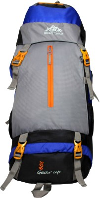 Mount Track Gear Up 9105NB 60 Ltrs(Blue, Rucksack)
