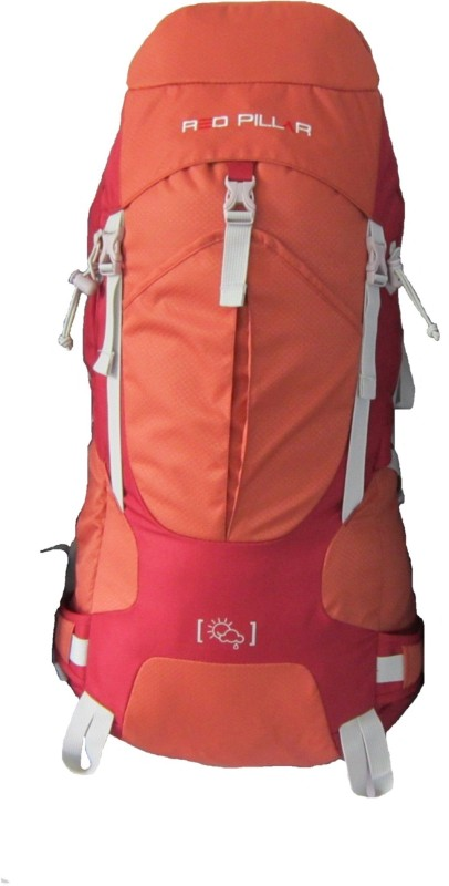 Red Pillar Salher 50 Adventure(Orange, Red, Rucksack)