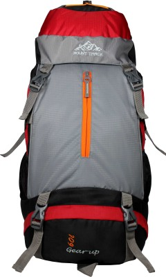 Mount Track Gear Up 9105RD 60 Ltrs(Red, Rucksack)