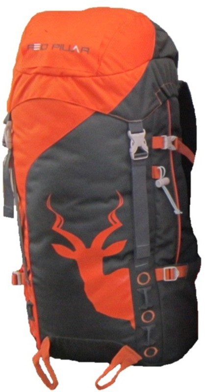 Red Pillar Alang 45 Adventure(Orange, Black, Rucksack)