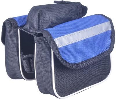 Psylane Front Tube Bicycle Frame Saddle Bag(Blue, Frame Bag)