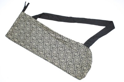 Aksobha Go Green Yoga Mat Sling Bag(Black, Sling Bag)