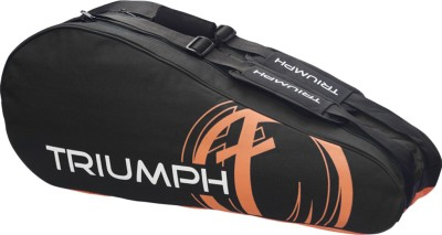Triumph New Orange 10 Racket Badminton Bag