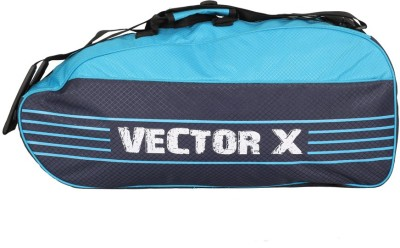 Vector X SMASH-BADMINTON-KIT-BAG-BLUE Badminton Kit Bag(Blue, Kit Bag)