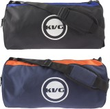 KVG SPORTS DUFFEL Gym Bag (Black, Blue, ...