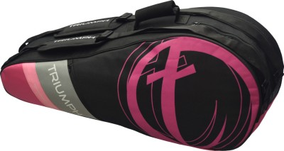 Triumph New Pink 10 Racket Badminton Bag