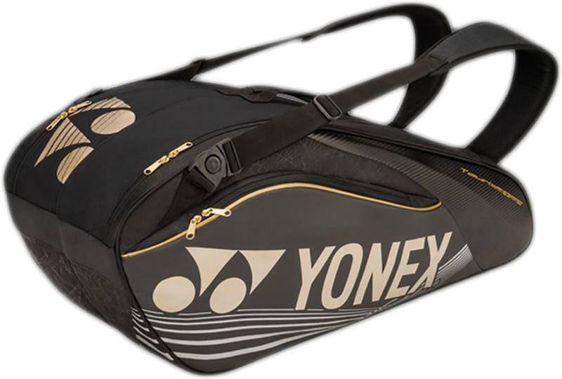 Yonex Sunr 9626 Tg Bt6 Sr Racquet Bag(Black, Gold, Kit...