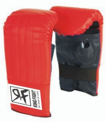 Ring Fight Punching Gloves Boxing Gloves (M, Red, Black)