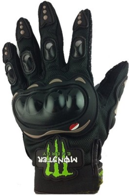 Capeshoppers MONSTER Driving Gloves (XL, Black, Multicolor)