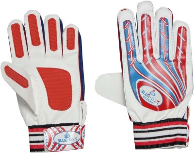 Blue dot classic Goalkeeping Gloves (Free Size, Multicolor)