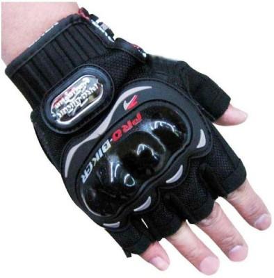 Pro Biker FBZ Riding Gloves (L, Black)