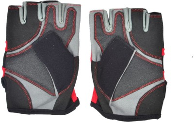 Personal Health AI- True Gym & Fitness Gloves (L, Red, Black)