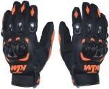 meenu arts KTM-L-003 Riding Gloves (L, B...