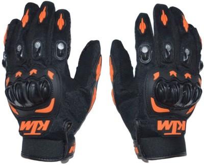 meenu arts KTM-XL-020 Driving Gloves (XL, Black)