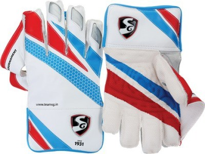 SG Tournament Wicket Keeping Gloves (Men, Multicolor)