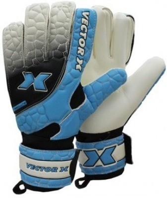 Vector X Absolute Football Gloves (L, Blue)