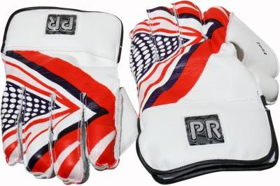 PR Test Wicket Keeping Gloves (Men, White)