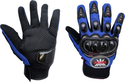 Pro Biker Full Finger Cycling Gloves (XL, Blue)