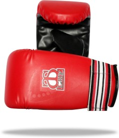 Lordz Heavy Bag Boxing Gloves (L, Red, Black)