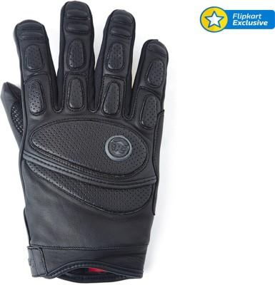 Royal Enfield LG01 Riding Gloves (XL, Black)