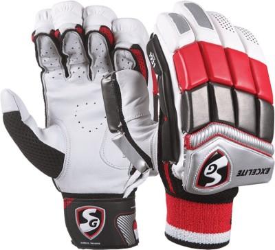 SG Excelite Batting Gloves (L, Multicolor)