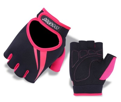 Cockatoo WLG7-Pink Gym & Fitness Gloves (XL, Multicolor)