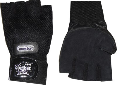 Combat Stallone Gym & Fitness Gloves (Men, Black)