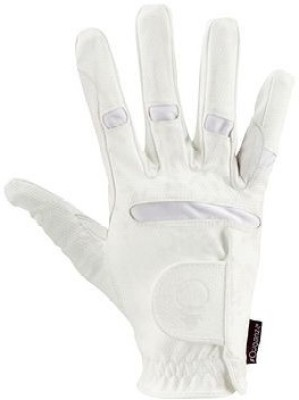 Fouganza Forclaz-500 Riding Gloves (L, White)