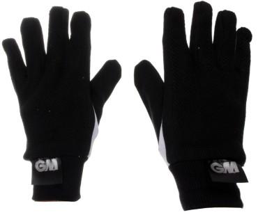 GM Padded Cotton Batting Gloves (Men, Black, White)